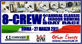 Logo Boat Race Indoor Rowing 2011